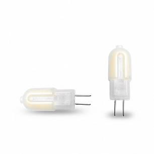 EUROLAMP LED Лампа капсульна Пластик G4 2W G4 3000K 12V, фото 2