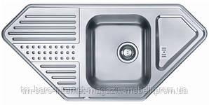 Кухонная мойка ALVEUS DOTTO 60R (1090 х 520 x 190 1x) полированная