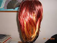 Шикарный парик с эффектной окраской
