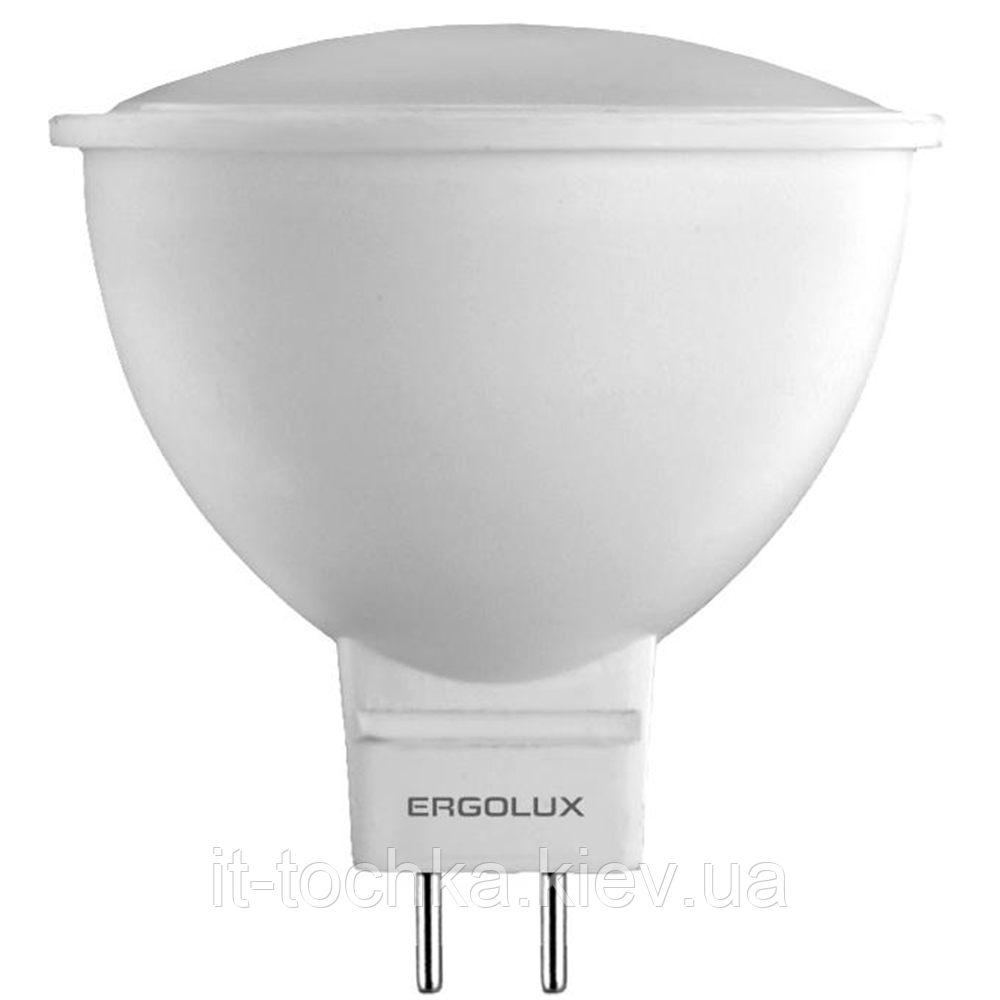 Энергосберегающая светодиодная лампа ergolux led-jcdr 5w-gu5.3-3k warm 12156