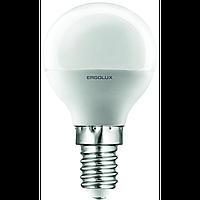 Ergolux led-g45 5w-e14-4k cold white 12140 (led-g45-5w-e14-4k)