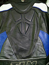 Мотокомбинезон бу  кожа  FLM, фото 3