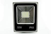 Светодиодный прожектор 50 Вт, Slim, SMD+датчик движения