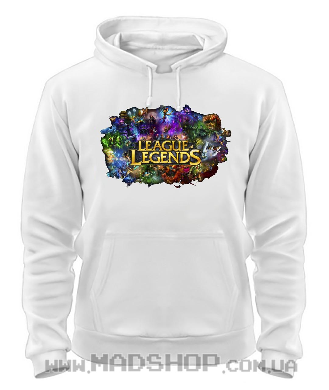 Толстовка Лига Легенд League of Legends цвета