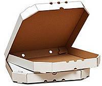 Коробка для пиццы 350*350*40 белая