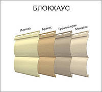 Панель ТМ FaSiding БлокХаус грецкий орех