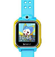 Детские умные gps часы Smart baby watch Q200(GW1000) 3G+камера Blue Оригинал На русском языке
