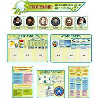 Сучасний кабінет географії в еко дизайні