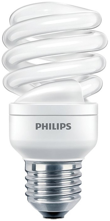 Лампа эконом. PHILIPS Econ Twister 12-57 Watt CDL E27 220-240V