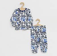 Детская пижама из натуральной ткани для мальчика
