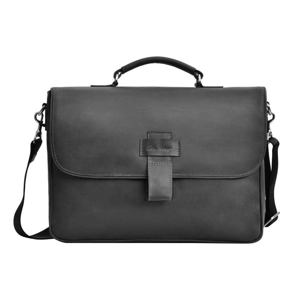 e56de141f77d Кожаный мужской портфель Issa Hara B20 - Интернет-магазин
