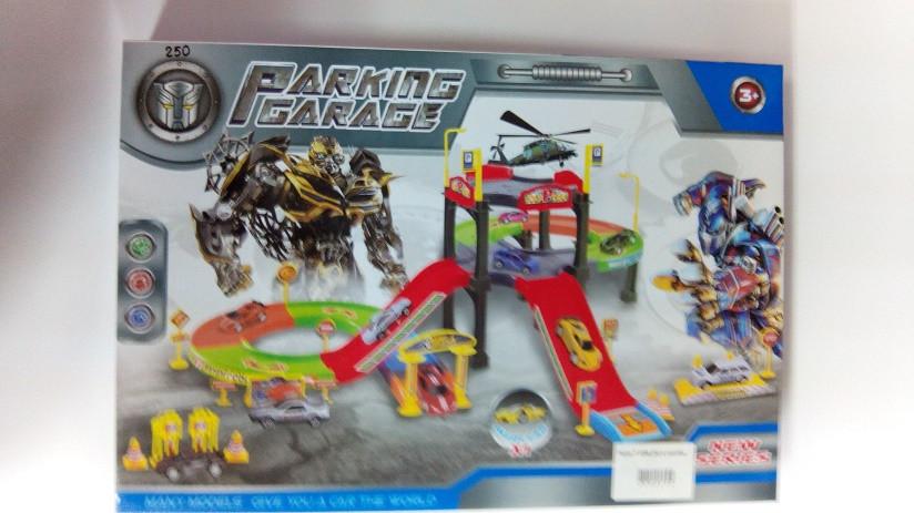 Паркинг, гараж для машинок