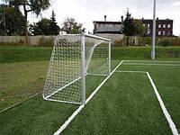 Ворота футбольные алюминиевые Inter Atletika 9423BT
