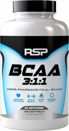 RSP BCAA 3:1:1, 200caps