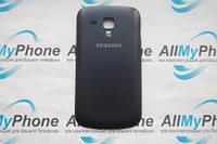Задняя панель корпуса для мобильного телефона Samsung S7562 Black