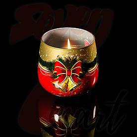 Свечи в стакане, Christmas, ароматизированные