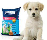 Корм для собак Клуб 4 лапы для щенков 12 кг