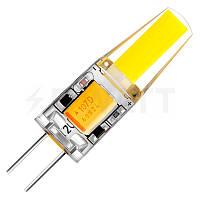 Лампа светодиодная BIOM G4-3,5W-12, AC/DC12, 3000К