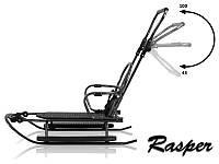 Санки Rasper Prampol + подножки (Польша), фото 1