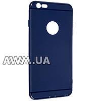Накладка силиконовая ультра тонкая Case iPhone 6 Plus синий