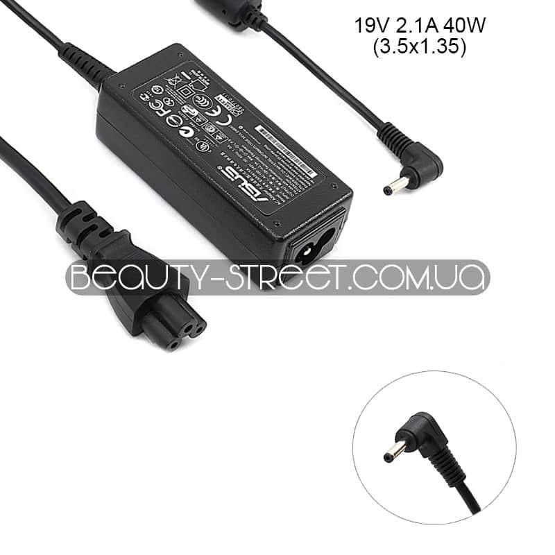 Блок питания для ноутбука Asus Ultrabook 19V 2.1A 40W 3.5x1.35 (A)