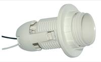 Патрон LEMANSO Е27 пластиковый  резьба+кольцо  провода 15 см