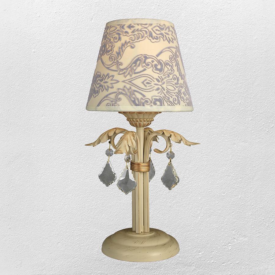 Настольная лампа в классическом стиле (модель 55-30000T-1 CRM+GLD)