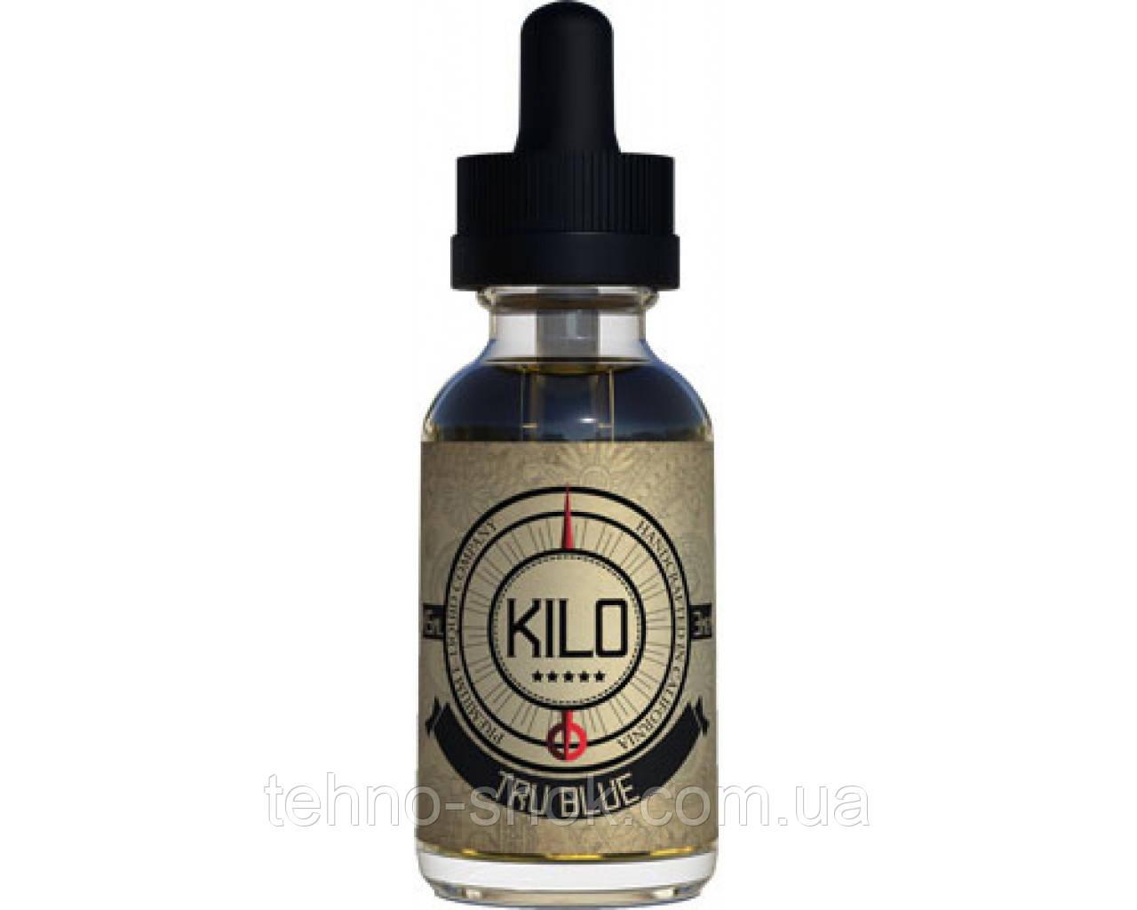 """Жидкость для электронных сигарет Kilo 30ml """"Tru Blue"""" (вкус черничного заварного крема) L-1"""