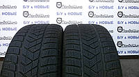Зимние шины б/у 255/60 R17 PIRELLI Scorpion Winter, 6 мм, пара 2 шт.