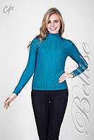 Женский свитер с классическим рисунком