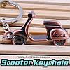 "Брелок мотороллер - ""Scooter Keychain"" + подарочная упаковка!"