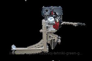 Мотор-болотоход лодочный MRS-16 HP (подвесной, 16 л. с., электростартер)