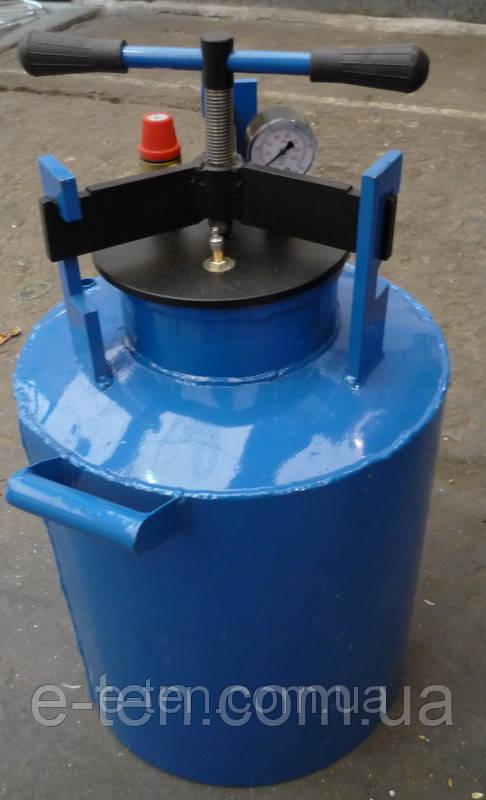 Автоклав для домашнего консервирования (синий)