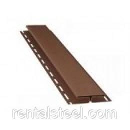Планка соединительная ТМ FaSiding коричневая