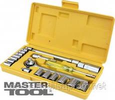 MasterTool  Набор ключей и насадок торцевых 21 шт. (1), Арт.: 78-0257