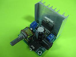 Усилитель звука НЧ на TDA7297  12V (SFT-908H) 2x15W
