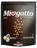 Сухой корм для выведения шерсти у котов Morando Miogatto Hairball Light 0.5 с курицей 400 г