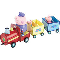 Ігровий набір Peppa - ПАРОВОЗИК ДІДУСЯ ПЕППЫ (паровозик, 3 фігурки)