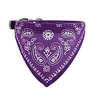 Ошейник бандана для собак мини пород и кошек Purple + S
