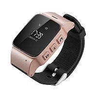 Детские умные часы Wonlex EW100 (D99) - Smart Watch GPS Rose Gold