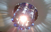 Точечный светильник Yusing 883 (G-6,35) син