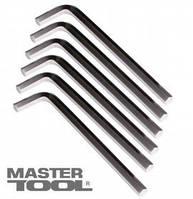 MasterTool  Ключ шестигранный CV 13,0мм L46-223мм, 4шт, Арт.: 75-0013