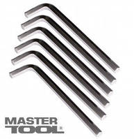 MasterTool  Ключ шестигранный CV 14,0мм L75-246мм, 4шт, Арт.: 75-0014