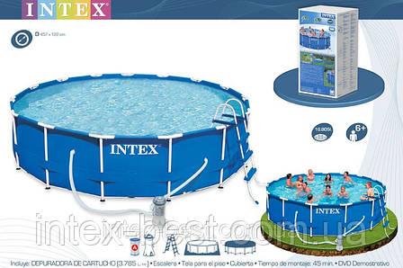 Каркасный бассейн Intex 28236 (54946) (457х122 см.), фото 2