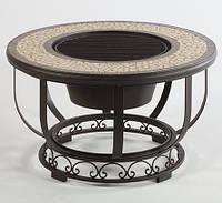 Стол-барбекю с круглой основой 900 мм
