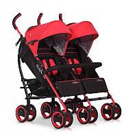 Прогулочная коляска EasyGo Duo Comfort Scarlet