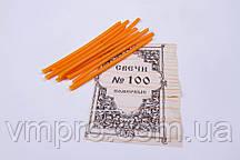 Свечи церковные парафиновые №80, 400 шт, L=170 мм, 2 кг/упаковка