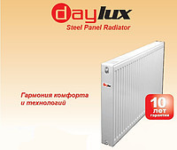 Стальной Радиатор 500x900 тип 22 DayLux (боковое подключение)