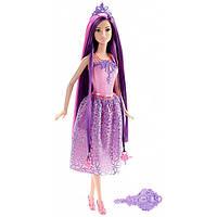 """Кукла Барби """"Принцесса с длинными волосами"""" (фиолетовые)"""