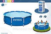 Intex 28200 (56997) - каркасный бассейн Metal Frame 305х76 см